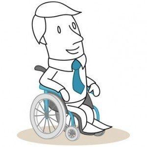 Voll im Arbeitsleben - trotz Behinderung. © Rudie - Fotolia.com