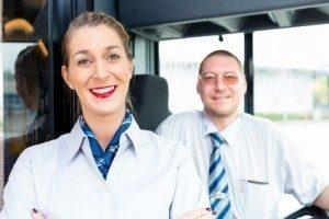 Busfahrer-Umschulung: Infos