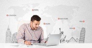 In einer globalisierten Welt agieren auch IT-Kaufleute weltweit. © ra2 studio - Fotolia.com