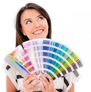 Farbgestaltung von Räumen- eine der Aufgaben von Dekorateuren. © Andres Rodriguez - Fotolia.com