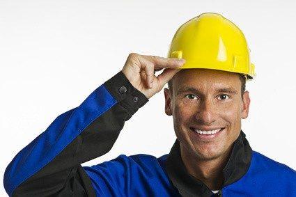 In vielen Jobs unerlässlich: ein Helm. © Bernd Leitner - Fotolia.com