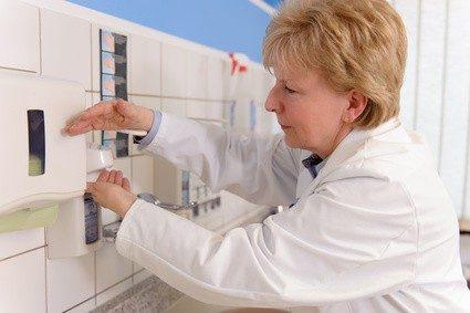Höchste Hygienestandards sind gerade in Kliniken unerlässlich. © Volker Witt - Fotolia.com