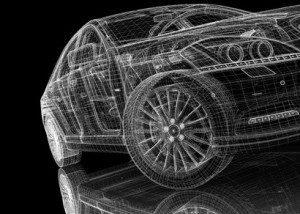 3D-Modelle sind unerlässlich in der Automobilindustrie. © podsolnykh - Fotolia.com