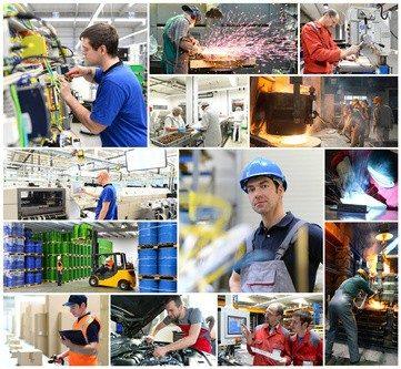 Produktionstechnologen müssen alle Fertigungsschritte im Auge haben.