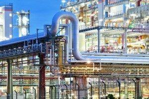 Deutschland besitzt immer noch bedeutende chemieproduzierende Industrie.