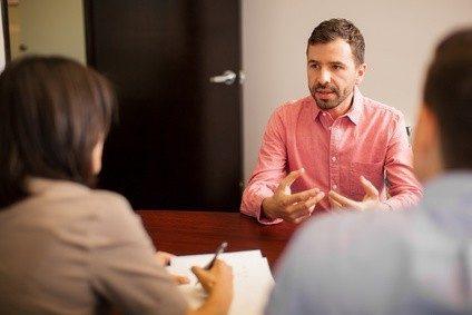 Das Bewerbungsgespräch ist die letzte Hürde vor der Einstellung.