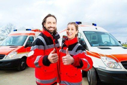 Sind Sie spätberufen zum Rettungssanitäter? Kein Problem.