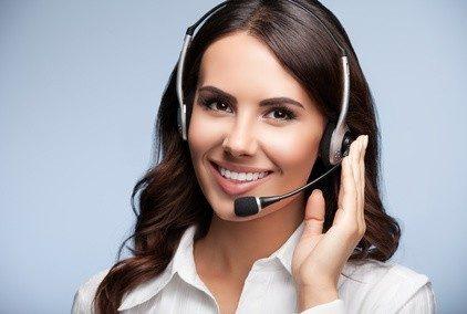 Dialogmarketing findet größtenteils am Telefon statt.