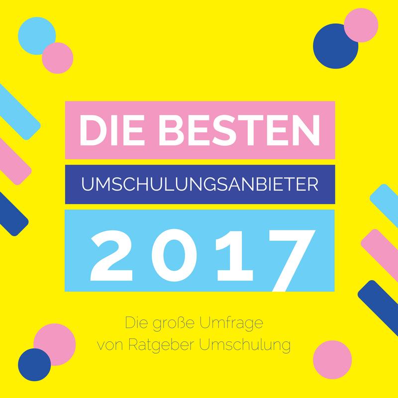 Die wahl der besten umschulungsanbieter deutschlands 2017 for Die besten innenarchitekten deutschlands